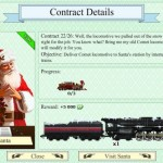TrainStation santa contract