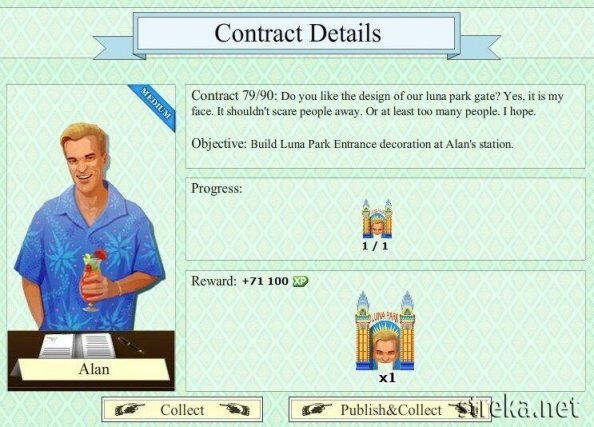 Alan contract