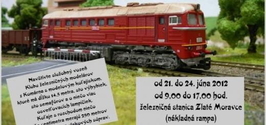 100 rokov zeleznice zlate moravce - kozarovce
