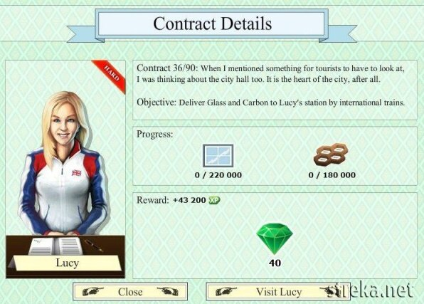 Lucy contract