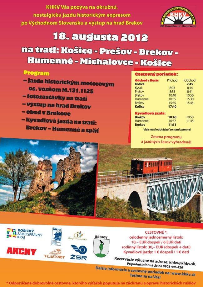 khkv brekov okolo vychodneho slovenska