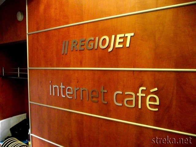 RegioJet Internet cafe vagon ASmz