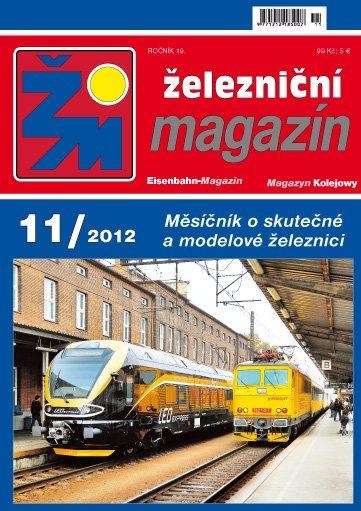 Železniční magazín 11/2012 titulka