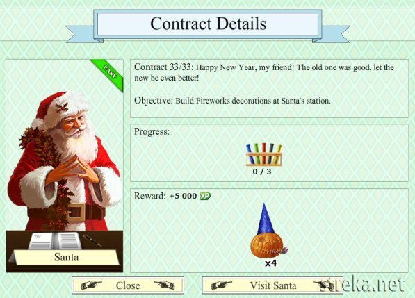 Santa contract 2012