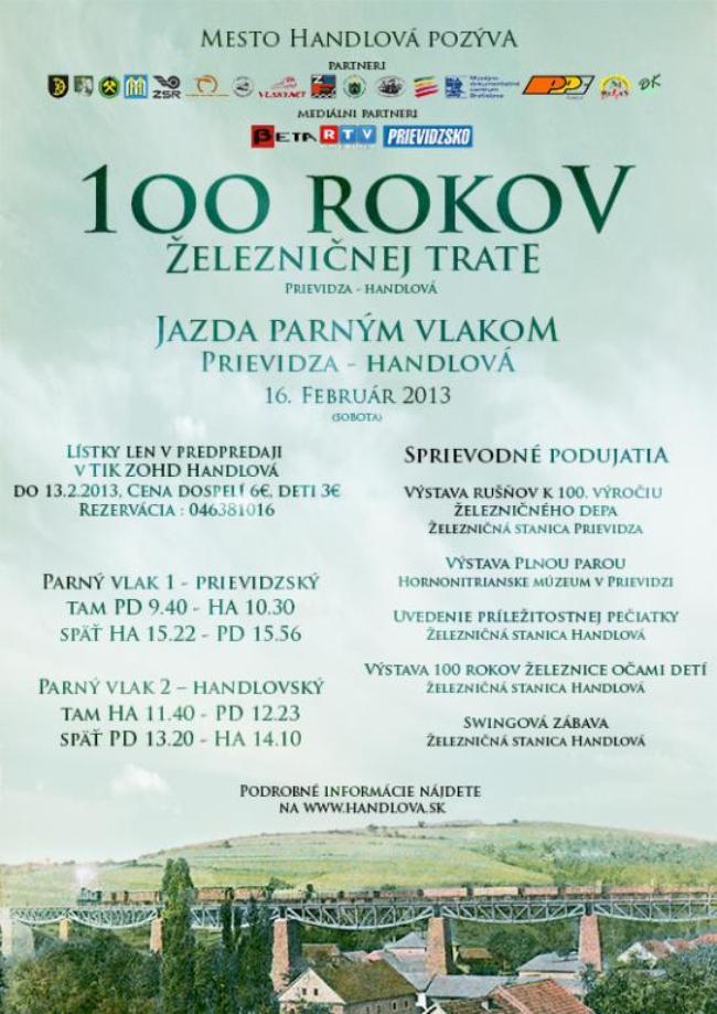 2013_2_100 rokov zel.trate prievidza - handlova