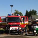 Depo Humenne - Hasiči a Polícia