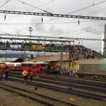 Početné zastúpenie divákov ako aj železničných priaznivcov