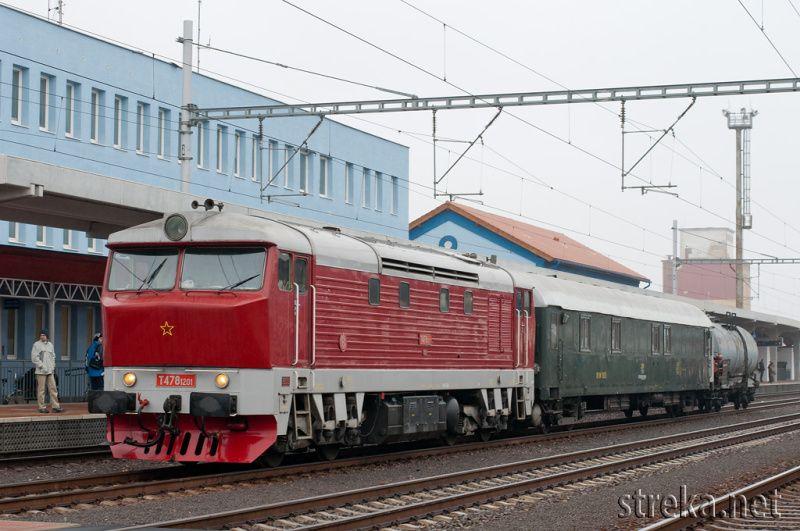 T478.1201 ako požiarny vlak