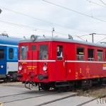Dva vozy ABpee a lokomotivu 362 stíní stroj M131.144