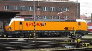 RegioJet 193.2014, Žilina 25.11.2014. Foto: Róbert Rudišin