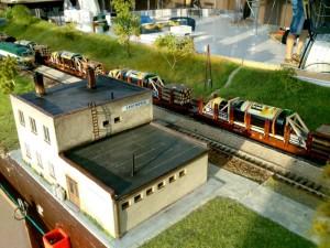 """""""Fernet"""" vlak v Chrenovci."""