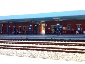 Stanica Neoi Poroi počas čakania.