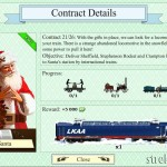 santa contract 21 trainstation