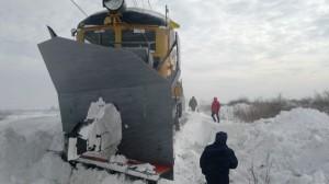 Ukrajinská fréza pri Budkovciach