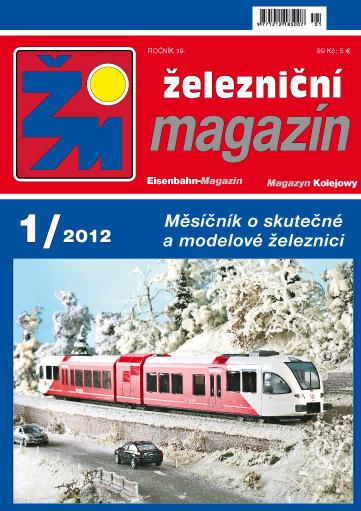 Zeleznicni magazin 1/2012 titulka