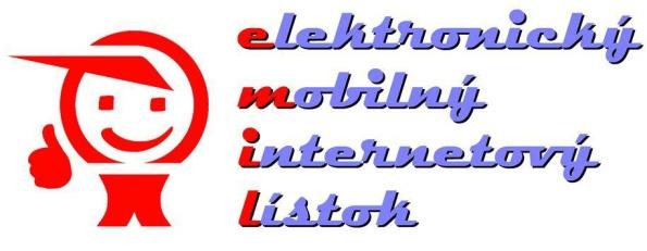 elektronický mobilný internetový lístok