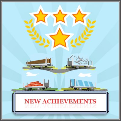 TrainStation - New achievements