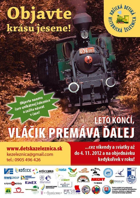 kosicka detska historicka zeleznica jesen 2012