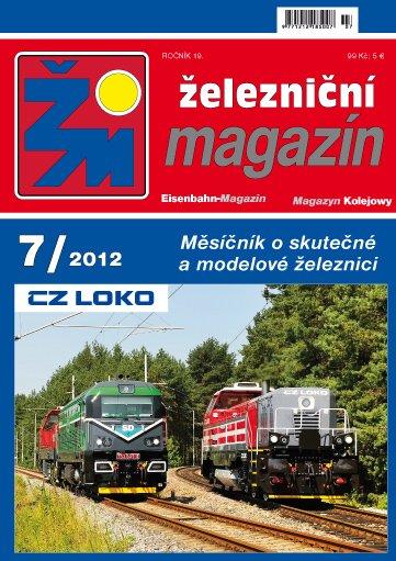 Zeleznicni magazin 07/2012 titulka