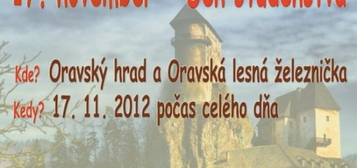 Den studenstva Oravska lesna zeleznica