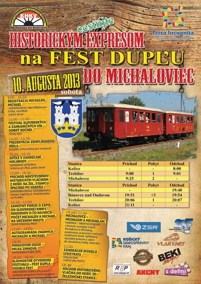 Fest Dupla 2013 - Michalovce 10. august