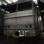 Mala tocna - nove celo lokomotivy