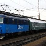 Zvlastny vlak do Prahy zachyteny v stanice Pardubice hlavní nadraží