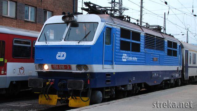 ČD 151.016, Foto : Róbert Rudišin
